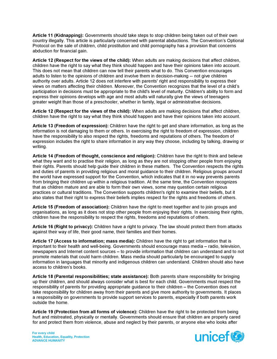 childrens right to access the internet essay